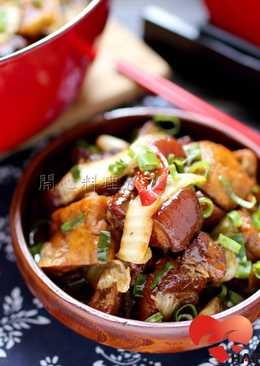 影音食譜【酸菜五花燉豆腐 】ღ開心料理