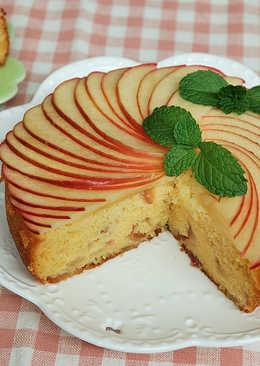 【蜜香蘋果蛋糕】
