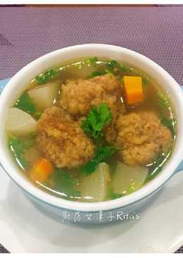 蘿蔔排骨酥湯