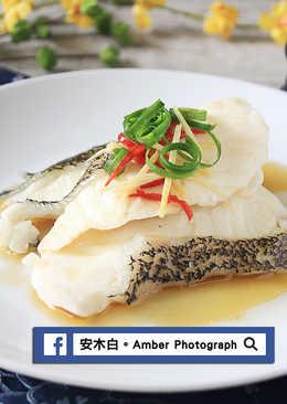 蔥蒸龍虎石斑魚