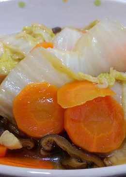 #清甜#日式白菜滷。