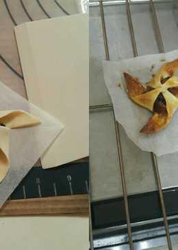 自製起酥皮-風車蘋果派