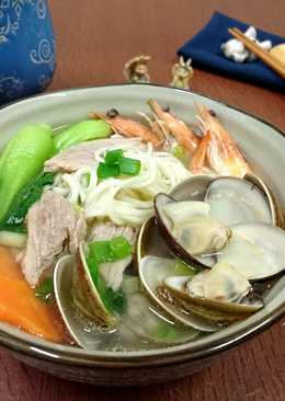 什錦海鮮麵