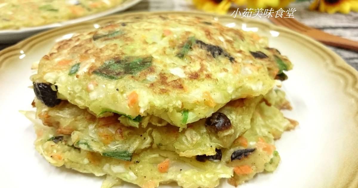 高麗菜煎餅食譜 by 小茹美味食堂
