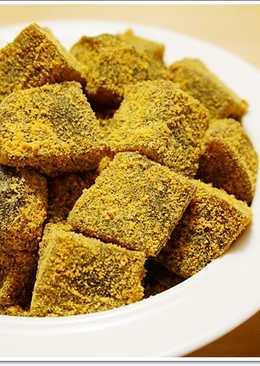 ♥毛毛♥【食譜】黑糖涼糕。佐日式黃豆粉,暑夏的清涼小點心