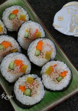 鮪魚沙拉.韓式壽司