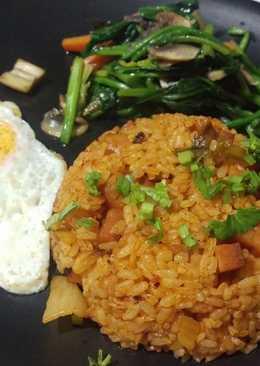 韓式泡菜午餐肉炒飯Korean Kimchi & Spam Fried Rice