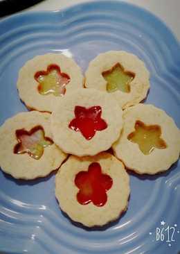 彩色玻璃餅乾