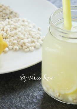 檸檬薏米水