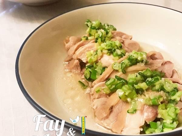 蔥油雞-簡單電鍋料理