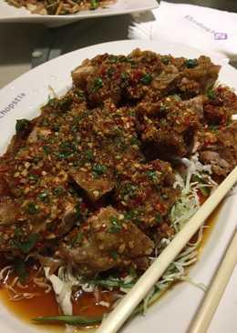 中式椒麻雞