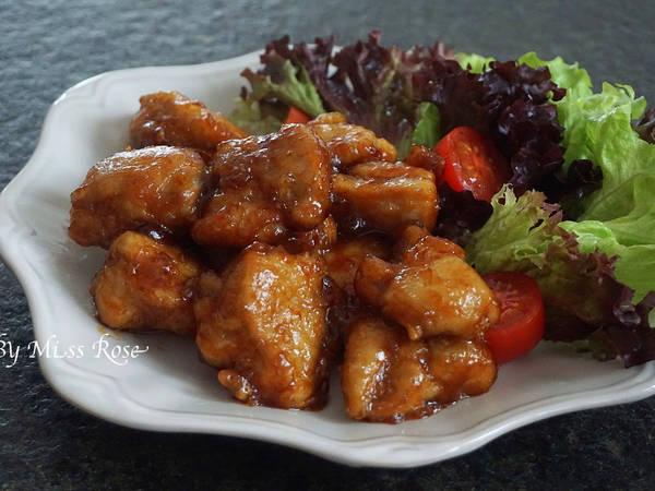 【免油炸】糖醋雞肉