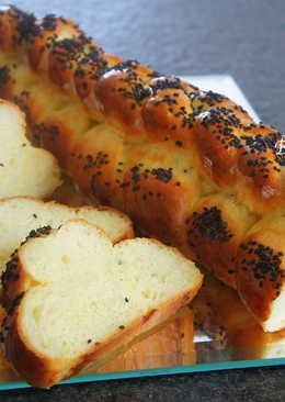 芝麻辮子麵包
