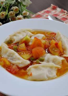 義式蕃茄湯餃
