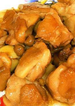 破布子醬燒雞