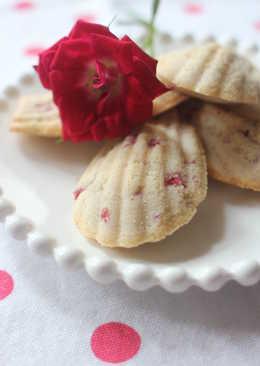 紅桑莓玫瑰瑪德蓮