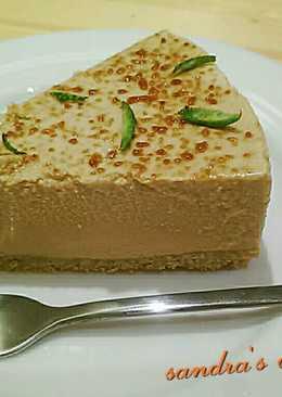 蜜糖香檸起司蛋糕(免烤)