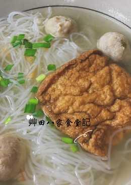 油豆腐魚丸米粉湯
