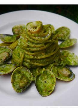 熱那亞青醬蛤蜊義大利麵