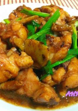 薑蔥醬油雞