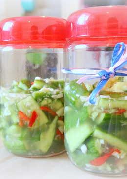 【台灣小吃・節・夏】涼拌小黃瓜