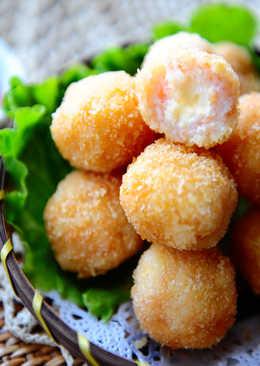 黃金起司蝦球