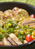 玉米焗烤雞