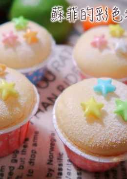 檸檬小杯子蛋糕~不會消風烤法