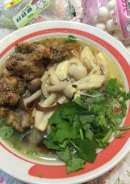 蚵仔鮮菇湯