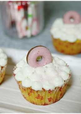 夢幻系甜點珠寶盒。美式杯子蛋糕