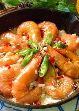 蒜香鹽烤蝦