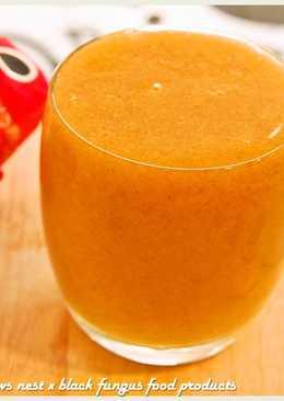 黑木耳甜柿鮮果汁.柯媽媽の植物燕窩