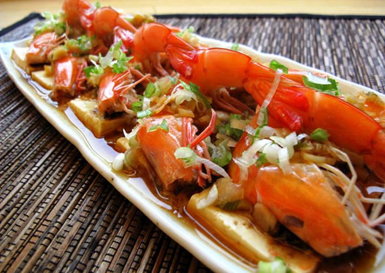 蒜蓉蒸蝦--蝴蝶刀對開蝦身大密技