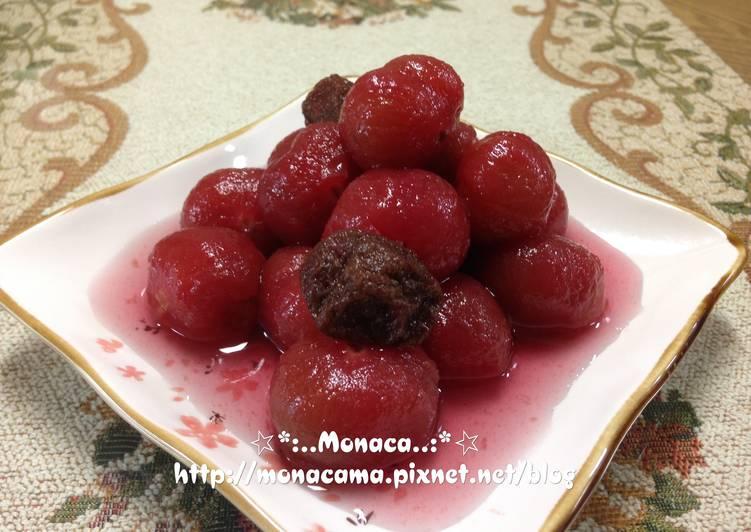紅酒釀梅子番茄