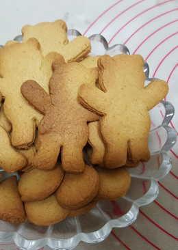 黑糖小熊餅乾