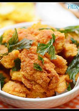 料理 - 脆皮鹹酥雞