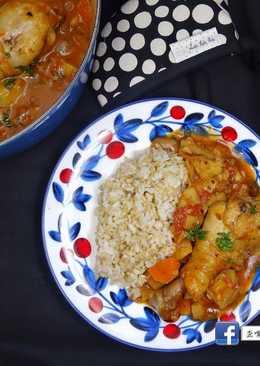 看電視學料理-花漾青春-冰島篇-歐洲式炒雞湯