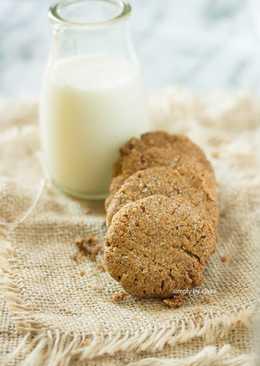 用燕麥粉做無麩質餅乾 (純素) – 伯爵茶餅乾