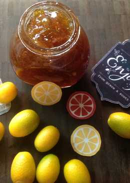 Homemade Kumquat Marmalade Jam-自製金橘果醬❤!!!