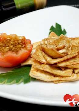 乾煎豆腐花