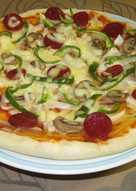 自己在家做披薩