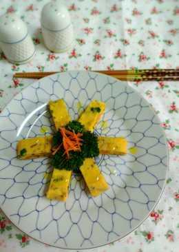 原味料理 - 蔥花玉子燒(五辛蛋素)