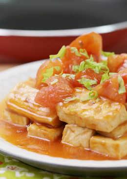 【家樂福廚房】蕃茄紅燒豆腐