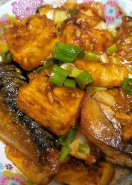 鯖魚豆腐燒