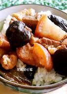 蔭瓜香菇魯肉飯