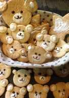 Bear Sugar Cookies-可愛小熊手工餅乾♥!!