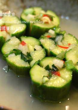 韓式黃瓜水泡菜,오이물김치