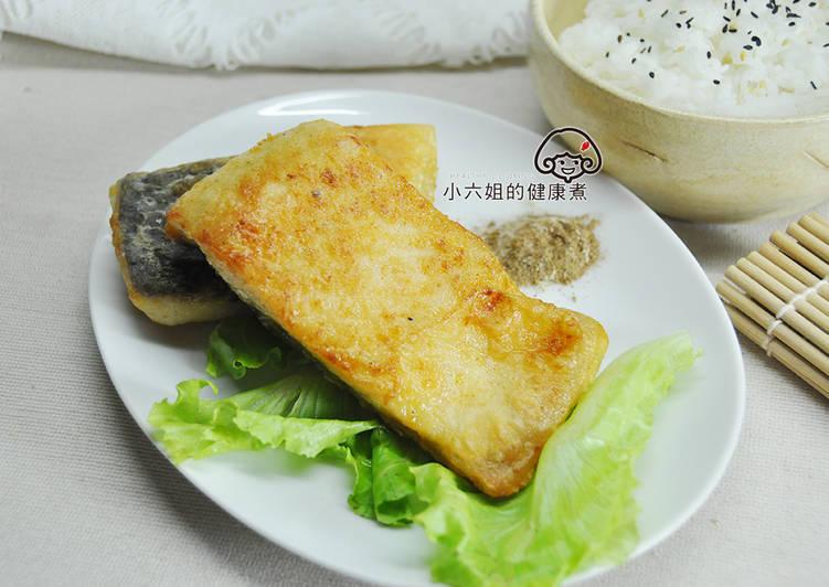 香煎鱘龍魚排