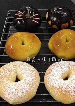 免炸甜甜圈(加馬玲薯泥)