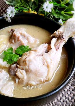 麻油雞豬湯(電鍋版